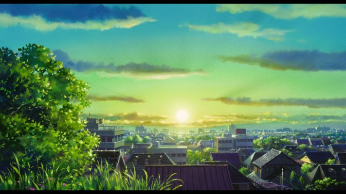 Anime Scenery Wallpaper Hd Anime Pc Background Landscape 1920x1080 Wallpaper Teahub Io
