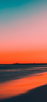 Beach Sunset Aesthetic 720x1280 Wallpaper Teahub Io