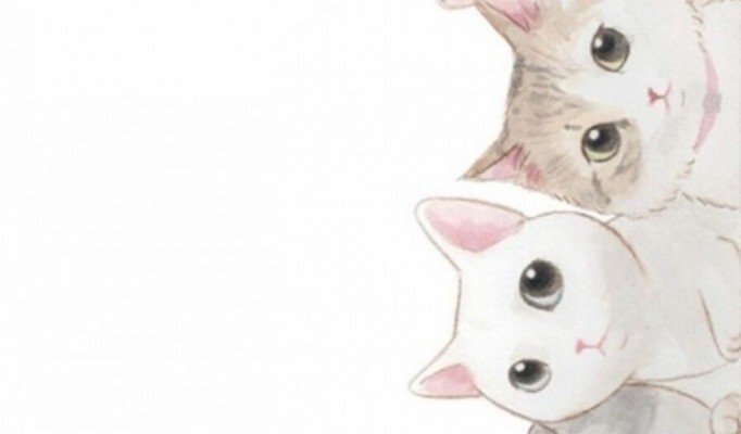 Cat Tumblr Pastel Background 1024x600 Wallpaper Teahub Io
