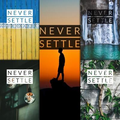 Never Settle Wallpaper Hd 4k Download - 534x949 Wallpaper ...