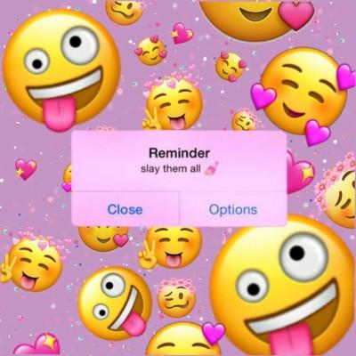 68 684636 aesthetic emoji wallpaper iphone
