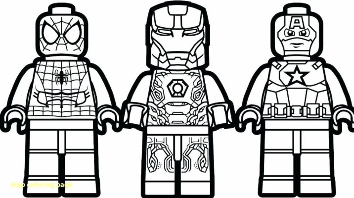 Lego Avengers Colouring Pages 1016x567 Wallpaper Teahub Io