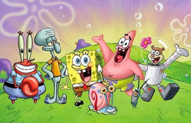 Gambar Kartun Lucu Terbaru Spongebob Squarepants 1112x720 Wallpaper Teahub Io