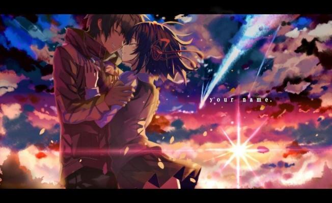 Your Name Anime Kimi No Na Wa Wallpaper Hd 1080x810 Wallpaper Teahub Io