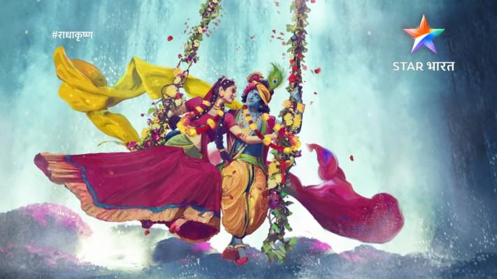 71 718495 star bharat serial radha krishna photo jhula waterfall