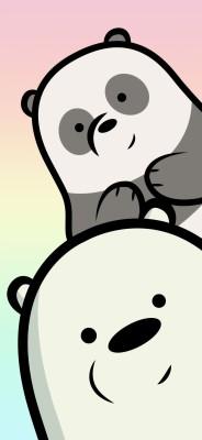 75 757471 iphone we bare bears wallpaper panda
