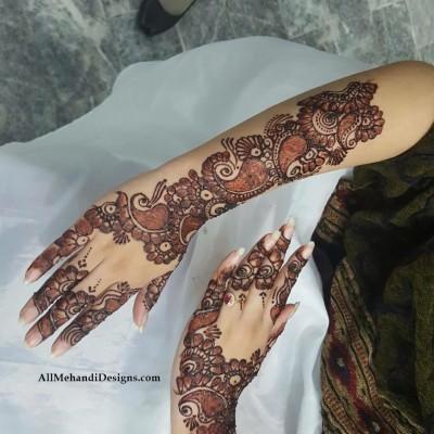 wedding dulhan mehndi design easy