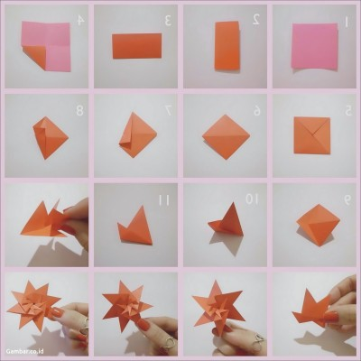 Origami T-rex Instructions by DonyaQuick.deviantart.com on ... | 400x400