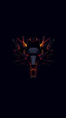 Witcher Dark Background Minimal 4k Ultra Hd Mobile 4k Dark Wallpaper For Mobile 950x1689 Wallpaper Teahub Io