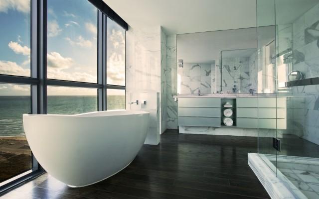 Modern Bathroom Hd 1920x1200 Wallpaper Teahub Io
