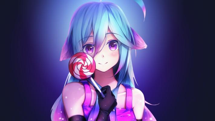 Cute Anime Girl 4k Cute Anime Girl Wallpaper 4k 4444x2500 Wallpaper Teahub Io