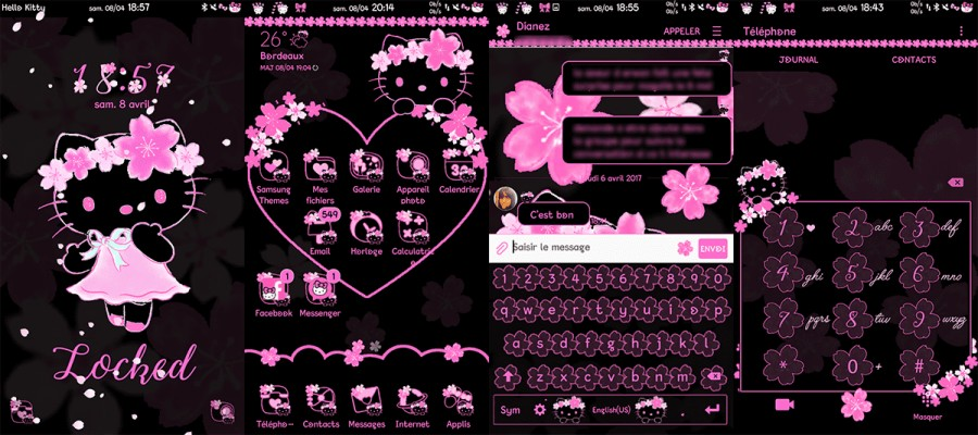 Hello Kitty Tablet Samsung 1800x1200 Wallpaper Teahub Io