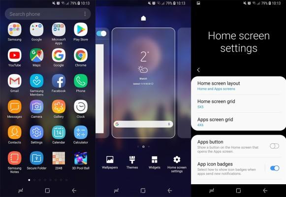 Samsung Galaxy S8 App Screen 1920x1080 Wallpaper Teahub Io